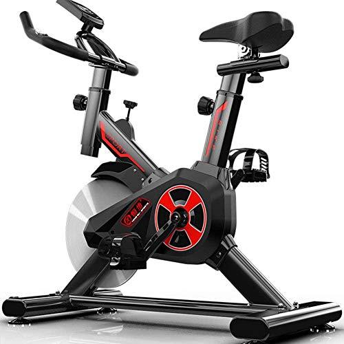 Hometrainer, indoorfitnessfiets, verstelbare professionele hometrainer met LCD-scherm, trainingstrainingsapparatuur verstelbare stoel