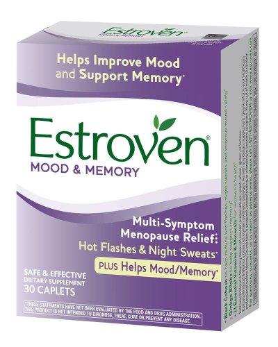 (2 Pack)-Estroven Mood & Memory Multi-Symptom Menopause Relief, 30...