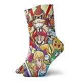 Super Smash Bros Mario Legend Of Zelda Kirby Pikachu Calcetines Unisex Adulto Casual Crew Calcetines Tubo Calcetines Cortos Calcetines Calcetines Crew Calcetines