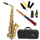 Conductor Model 300 Alto Saxophone - Gold Lacquer w Case, Accessories
