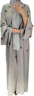 Women's Ramadan Muslim Robe Clothe,Long Muslim Wear On Both Sides Dubai Abaya Maxi Dresses Islamic Clothing