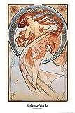 1art1 Alphonse Mucha - Der Tanz, 1898 Poster 91 x 61 cm