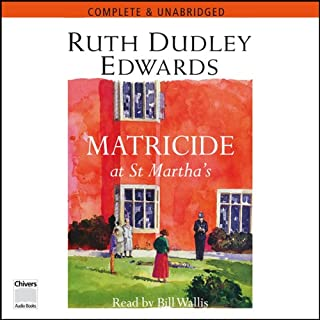 Matricide at St Martha's cover art