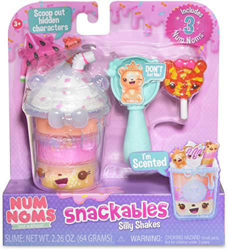 Num Noms Snackables Silly Shakes- Tropical Slushie Collectible