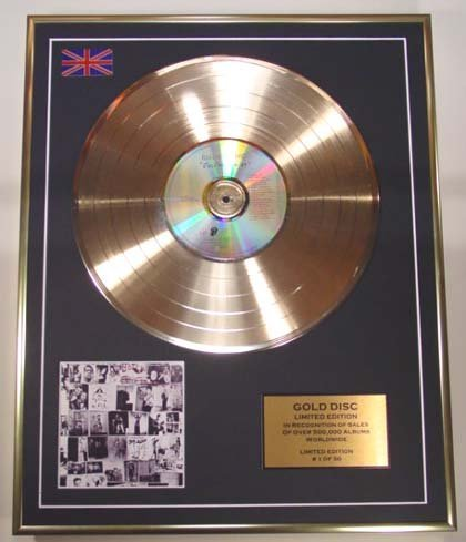 The Rolling Stones / Limited Edition CD Gold Disc / 'Exile on Main Street' / (The Rolling Stones)