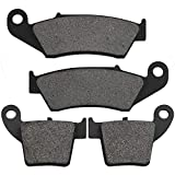 Yerbay Motorcycle Front and rear Replacement Brake Pads for Honda CRF450R 2002-2016 / CRF450X 2005-2017 / CRF450RX 2017