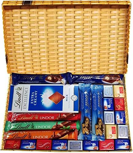 Chocolate Gift The Ultimate Lindt - Scatola di selezione per cioccolatini, colori assortiti