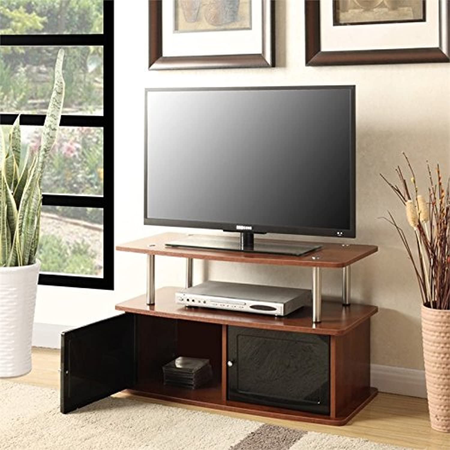 Pemberly Row 36  TV Stand in Cherry