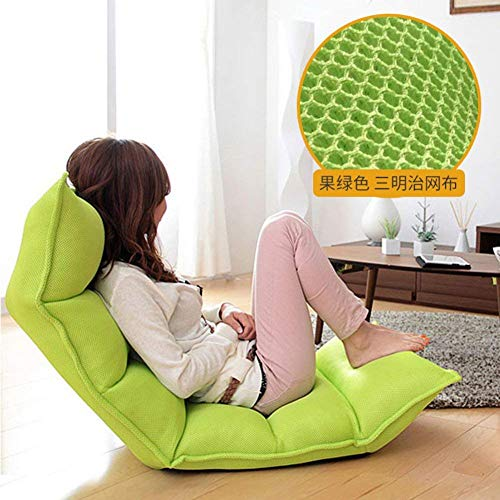 Sofá Lazy Sofá de Seis Asientos Lazy Couch Tatami Cama Plegable Individual...