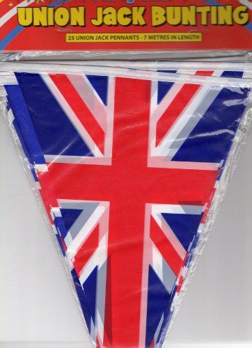 1 X Union Jack fanions triangulaires Olympic 2012 et pour le jubilé Parties