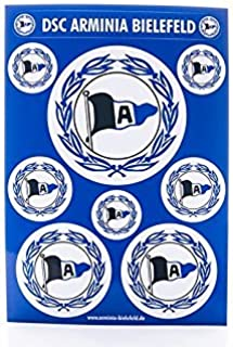 DSC Arminia Bielefeld Aufkleberkarte 9 Logos