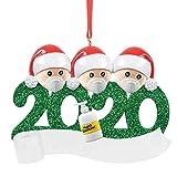 Makefortune Weihnachtsan Hängen Anhänger 2020 Feiertags Dekorationen Weihnachtsmann Trägt Eine Mundschutz Familie Von 2~6 Schneemann Weihnachtsbaum Niedlich Dreidimensional Weihnachtsschmuck