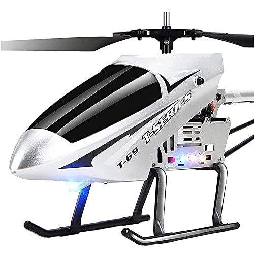 PPQQBB Plane de Control Remoto de 85 cm 2.4GHS Radio Grande Control Remoto Helicóptero Cargador eléctrico RC Aircraft Drone Juguetes para niños para niños y Adultos Regalos