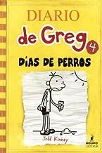 Dias De Perros (أيام الكلاب) (Turtleback School & Library Binding Edition) (Diario de Greg / Diary of a Wimpy Kid) (إصدار إسباني)
