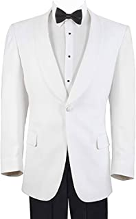 Men's White Formal Dinner Jacket - 48 Regular