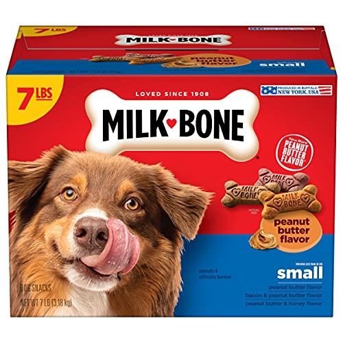Milk-Bone Peanut Butter Flavor Naturally & Artificially...