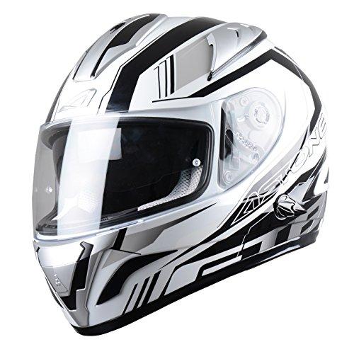 Astone Helmets Mirage, Subwoofer Integralhelm, Grau, L
