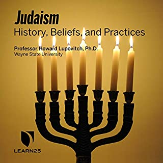 Judaism: History, Beliefs, and Practices audiobook cover art