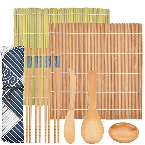 FOROREH Sushi Mat Set, Sushi Mat Bamboo Sushi para