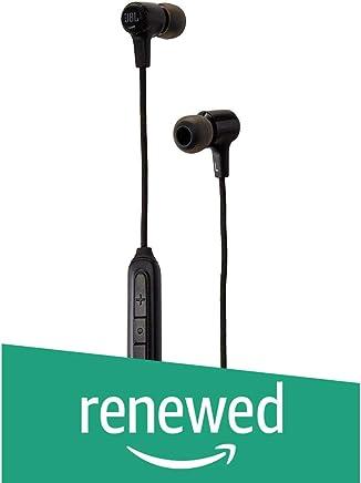JBL E25BT Bluetooth in-Ear Headphones Black (Renewed)