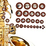 Almohadilla de saxofón duradera para todos los saxofones altos
