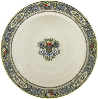Lenox Autumn 9-1/8-Inch Gold-Banded Fine China Pasta/Rim Soup Bowl, Set of 4