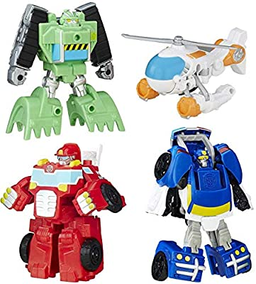 Playskool Heroes Transformers Rescue Bots Griffin Rock Rescue Team from
