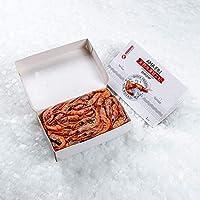天然冷凍甘エビ 1kg ロシア産 (サイズ:LA 61~67尾入り)