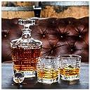 Premium Heritage Whiskey Decanter Set For Men