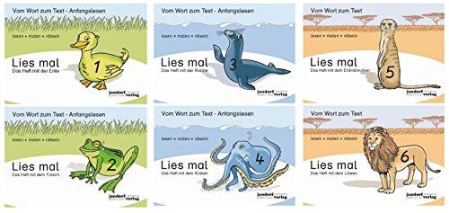 Lies mal! Hefte 1 und 2, Lies mal! Hefte 3 und 4, Lies mal! Hefte 5 und 6 (neue Version)
