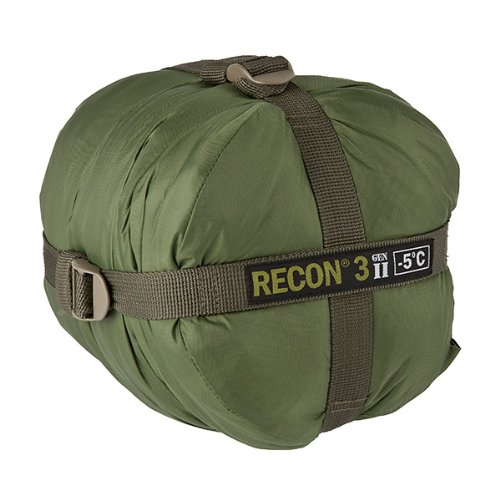 Elite Survival Systems Recon 3 Sleeping Bag, Olive Drab, Rated to 23 Degrees Fahrenheit
