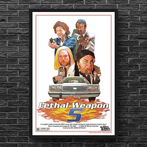 Lethal Weapon 5 It's Always Sunny in Philadelphia Poster // Fat Mac // Danny Devito Comedy, funny, Sunny In Philly, rum ham
