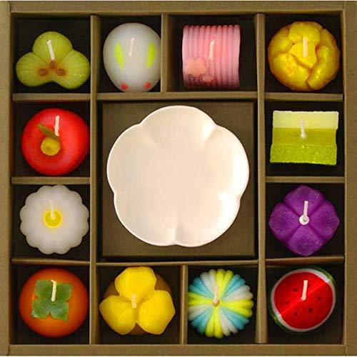 和菓子づくしギフトセット 96260000 ろうそく ローソク かわいい お菓子 仏壇 仏事 法事 香典返し 粗供養 初盆