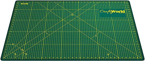Cutting Mat for Sewing & Crafts - 24x36inches, Sturdy Rotary Cutting Mat w/ Self Healing, Non Slip Surface - Perfect Craft, Fabric Cutting Board for Quilting & Sewing - Large Double Sided Mats