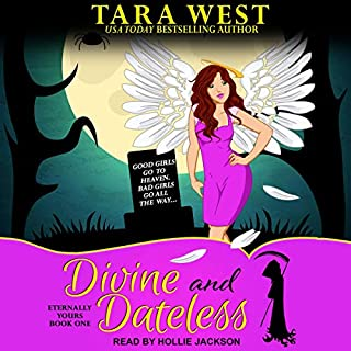 Divine and Dateless audiobook cover art