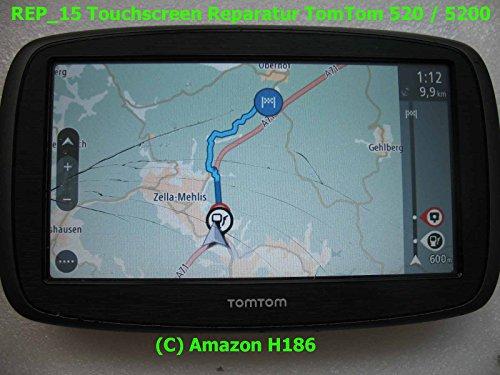 H186 - REP_15 Kompatibel mit Tomtom GO 520/5200 / VIA 53 TomTom GO Essential 5,0