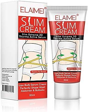 Crema caliente, crema de eliminación de celulitis natural delgada reafirmante crema corporal anti celulitis adelgazante quemador de grasa para moldear cintura, abdomen y glúteos 2.0fl oz
