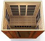 """DYNAMIC SAUNAS """"Bellagio 3-Person Low EMF Far Infrared Sauna"""