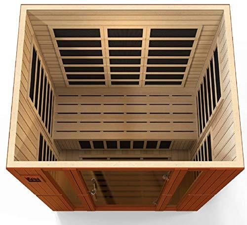 DYNAMIC SAUNAS 'Bellagio 3-Person Low EMF Far Infrared Sauna