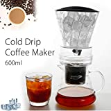 SYSWJ Cafetera 600Ml/1000Ml Water Drip Coffee...