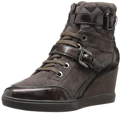 Geox Dames Weleni27 Fashion Sneaker, Kastanje, 40 EU/10 M US