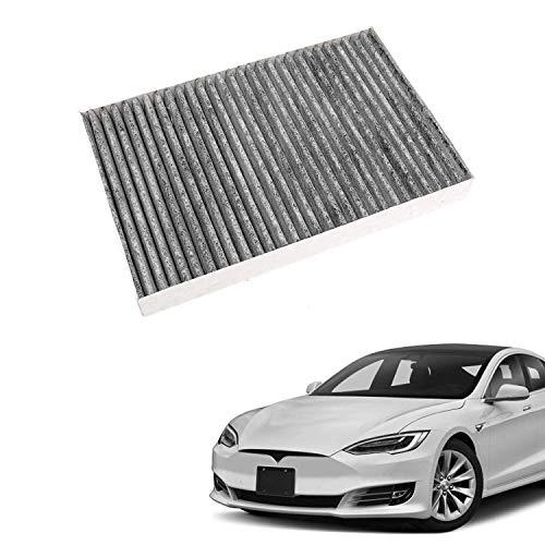DEF Innenraumfilter für Modell S 2012-2015 inkl. Aktivkohle und Soda