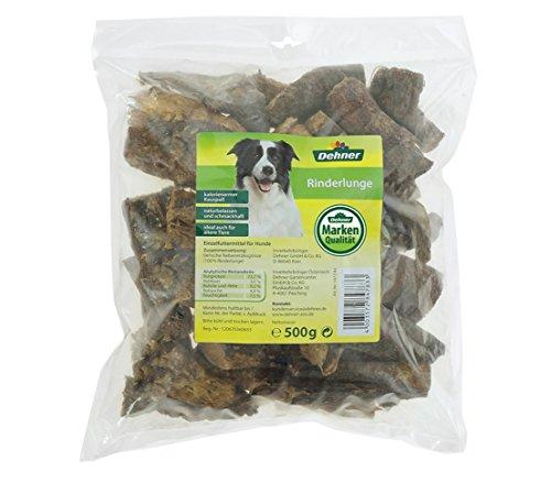 Dehner Hundesnack, Rinderlunge, 500 g