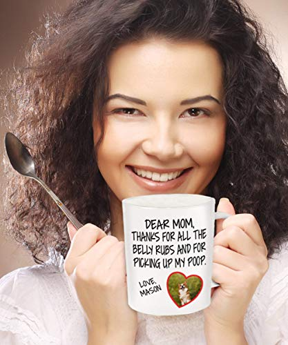 Personalisierte Hunde-Kaffeetasse, Haustier-Tasse, Hunde-Tasse, Hunde-Tasse, Hunde-Moma, Geschenk für Hund, Papa, Hundeliebhaber Geschenk, niedliche Tassen, Hunde-Tasse