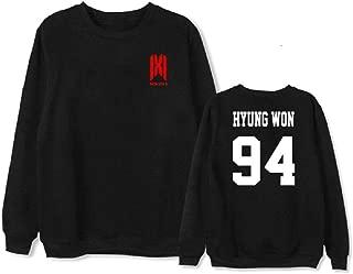 2019 Kpop Monsta X WE are HERE World Tour Sweater Shownu Wonho Hoodie