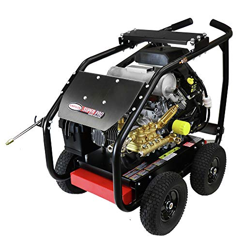 Lowest Price! SIMPSON 65214 6000 PSI 5.0 GPM Gear Box Medium Roll Cage Pressure Washer Powered by Ko...