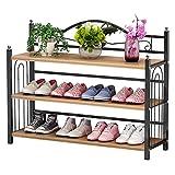 HUALEMEI Premium Industrial Zapatero,Hogar Multi-Capa Estante para Zapatos para Closet,Entrada,Pasillo,Baño-A 81x24x56cm(32x9x22inch)