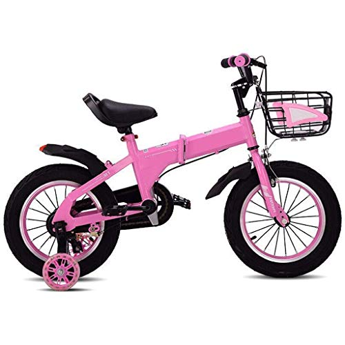 WZLJW Lquide Kinder Bicle Junge Mädchen 3-7 Jahre alt Mountainbike Bicle Exercise Bike LIN ggsm (Color : 16in|1)