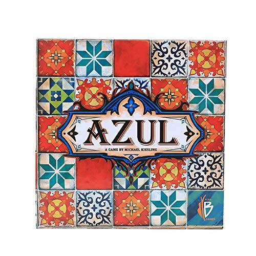 Yicare Azul Brettspiel Sommerpavillon Kartenspiele Partyspiel Strategie-Kartenspiel für Erwachsene und Jugendliche Kind