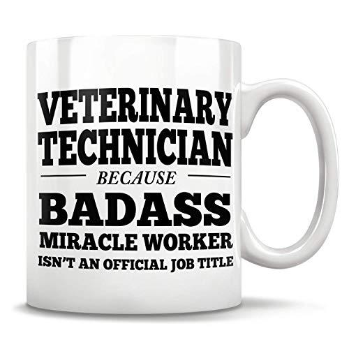 Lawenp Regalos de técnico veterinario, taza de técnico veterinario, regalos de tecnología veterinaria, taza de tecnología veterinaria, apreciación de la tecnología veterinaria, estudiante de tecnolo